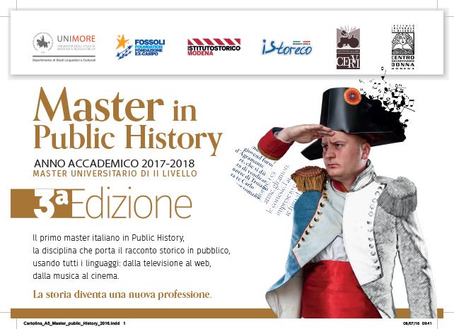 Il Master di public history di Modena