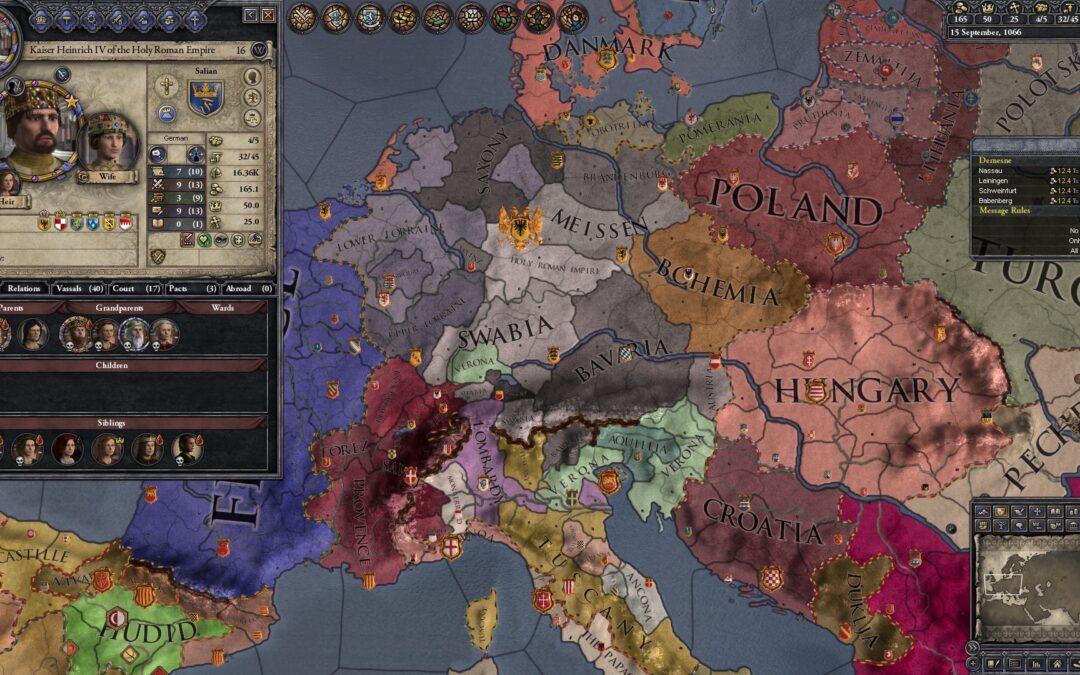 Videogames e Storia Medievale: Crusader Kings