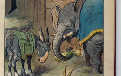 #popUSA2020: l'asino e l'elefante: breve storia del bipartitismo americano