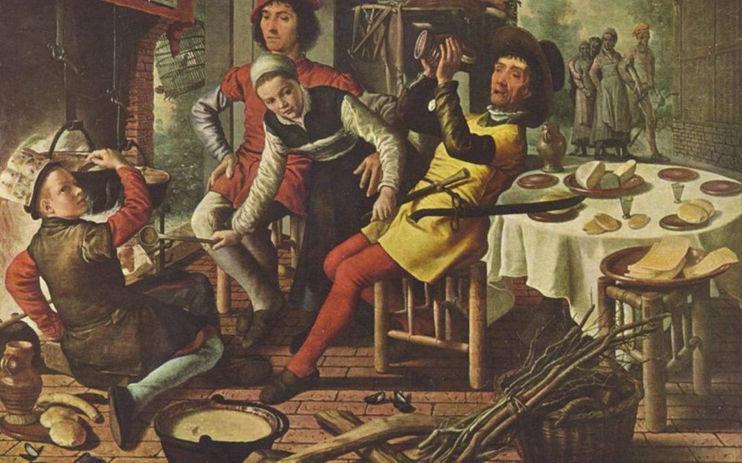 I buoi milanesi hanno il gusto a banchettare