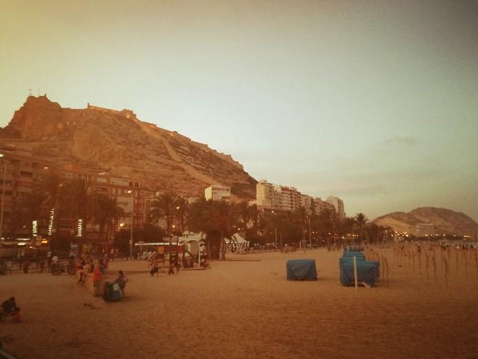Per le strade di Alicante