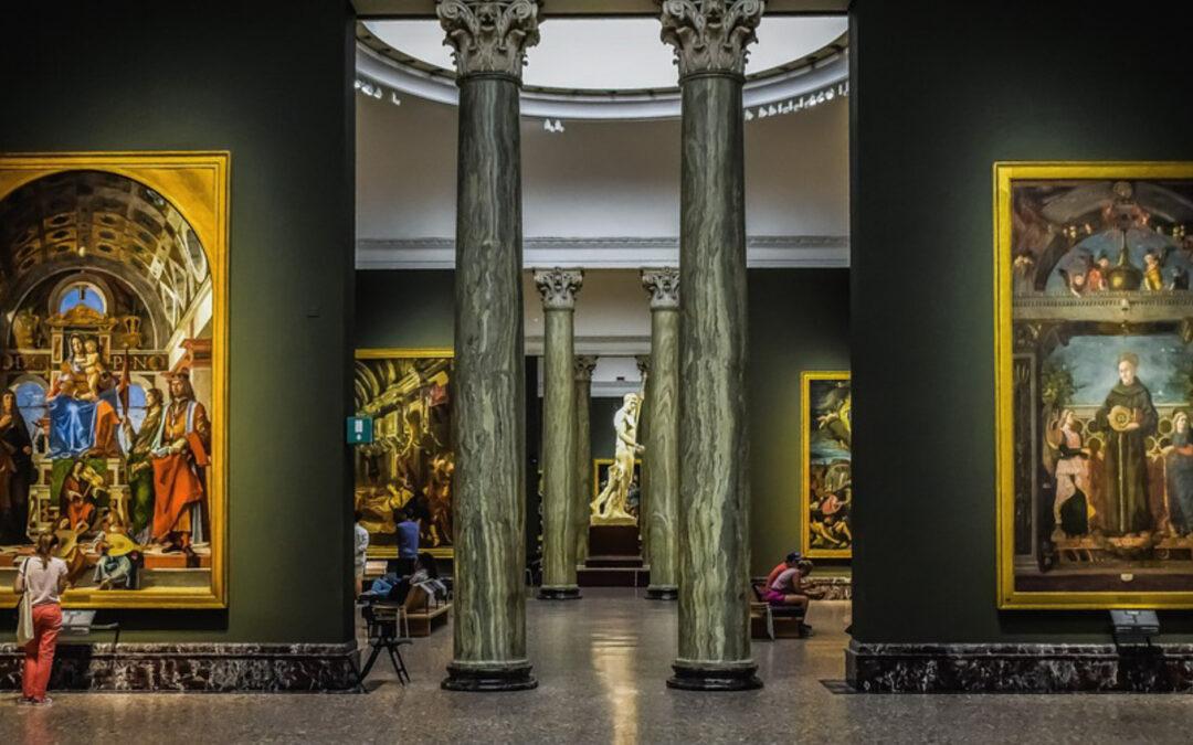 Il mondo Brera: specchio dei secoli e della sapienza umana